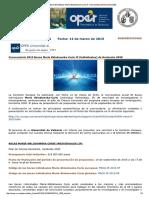 Convocatoria 2015 Becas Marie Curie Return de Horizonte 2020