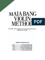 Tecnica pr Violino Parte II -  Maia Bang.pdf