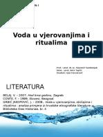 Voda u Vjerovanjima i Ritualima1