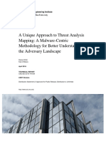 A Unique Approach to Threat Analysis Mapping