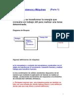 Mecanismos Clase 1 2011 Introducción