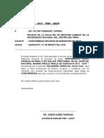 DOCUMENTO DE CONFORMIDAD