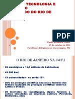Ciência e Tecnologia no Estado do Rio de Janeiro FIJ Outubro de 2014.pptx