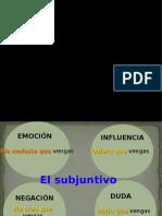 Clausulas Con Subjuntivo