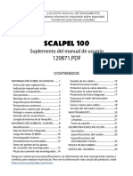 2008 Scalpel 100 Owners Manual Supplement Es