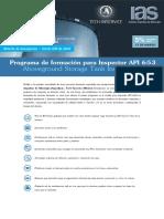 Programa de Formación de Inspector API 653 a Distancia-Rev04