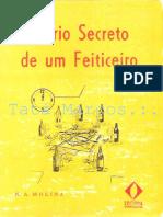 Diário Secreto de Um Feiticeiro - n.a Molina