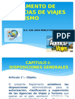 Clase 1 Reglamento de Agencias de Viajes y Turismo