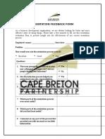 cb orientation feedback