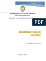 Plan Global Taller Seminario Moodle