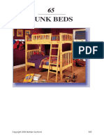 Woodwork plan for Bunk Beds