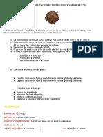 Ejercicio de Aplicación de Costos Fijos y Variables n 1 y 2