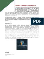 Herramientas Para Compartir Documentos