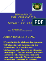 Seminario de Estructuras Semanas 1, 2 (11, 23-09-15)