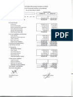 3rd Quarter Financial Statement January to March-2015