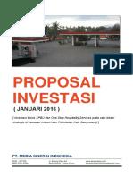 Proposal SPBU Sukowidi Banyuwangi