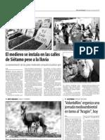 """'VoluntaRíos' organiza una jornada medioambiental en torno al """"Aragón"""", hoy"""