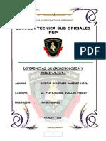 DIFERENCIAS DE CRIMINOLOGIA Y CRIMINALISTA.docx