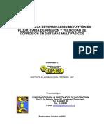 48. Modelo Para La Determinación de Patrón de Flujo, Caída de Presión y Velocidad de Corrosión en Sistemas Multifásicos