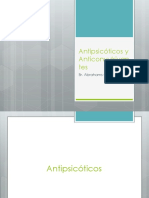 Antipsicóticos y Anticonvulsivantes