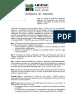 Edital Prosur 06 2015 Segundo Semestre