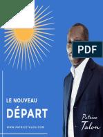 Le Nouveau Depart Patrice Talon 2016