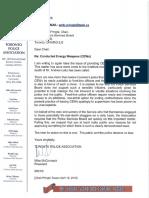 McCormack letter to Pringle