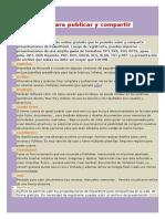 Herramientas Para Publicar y Compartir Documentos