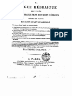 Langue hebraique reconstituée Fabre d-Olivet Partie 1.pdf