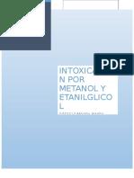 Intoxicacion Con Metanol y Etilenglicol