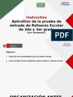 INSTRUCTIVO Alicativo de RE_PEntrada 1er Momento 2016