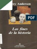 ANDERSON, Perry - Los Fines de La Historia