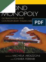 Globalização e Mídia Italiana