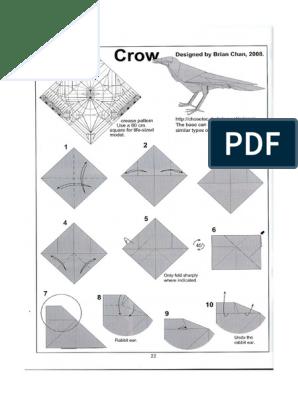 Pegasus origami - OrigamiArt.Us | 396x298