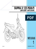 Part Catalog New Honda Supra X 125 FI
