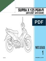 Part Catalog New Honda Supra X 125 FI