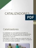 Catalisis de Quimica