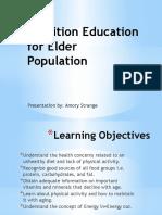 nutriton education