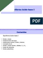 6-Equilibrios Acido Base I