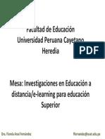 Cayetano Heredia Metodos