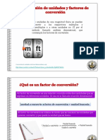 Factor de Conversiones