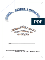 Kertas Model 3 Geografi STPM Penggal 2 2016