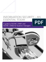 Information Security an Essential Today Updated