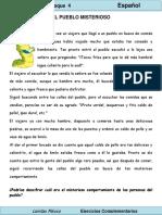 2do Grado - Español - El Pueblo Misterioso (Comprensión Lectora)