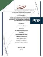 Nutrición Clínica_if_monografía Parámetros Bioquímicos