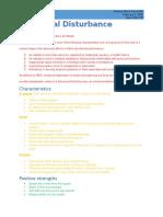 disability expert project-emotional disturbance-fact sheet