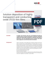 Transparent Conducting Oxide