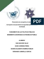 Politica Publica Corrupcion Al Volante Buap