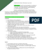 ld expert fact sheet