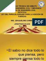 Jonathan Cajas Estatica
